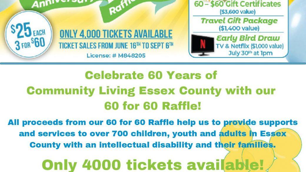 Happy Anniversary  Community Living Essex County