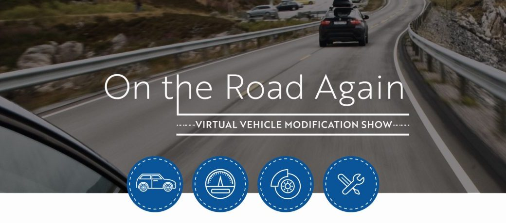 """""""On the Road Again""""  three-part Virtual Vehicle Modification Show"""